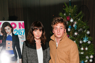 Emma Greenwell Jeremy Allen White NYLON Celebrates December/January Cover Star Lucy Hale Presented By bebe At Andaz West Hollywood