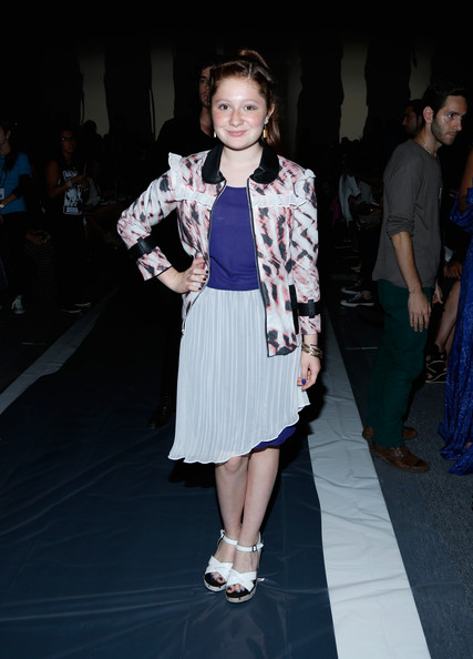 Emma Kenney Pictures - MBFW: Emerson by Jackie Fraser-Swan ...