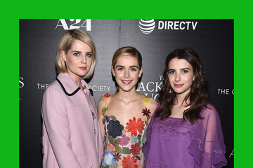 Emma Roberts A24 and DirecTV With the Cinema Society Host a Screening of 'The Blackcoat's Daughter' - Arrivals
