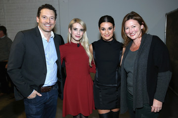 Emma Roberts Lea Michele Entertainment Weekly's First- Ever 'EW Fest,' Presented by LG OLED TV