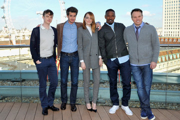 Emma Stone Marc Webb 'The Amazing Spider-Man 2' Photo Call — Part 2