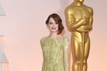 Emma Stone Arrivals at the 87th Annual Academy Awards — Part 3
