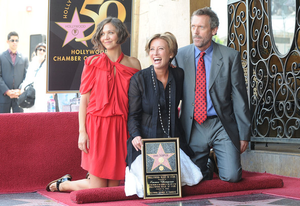 estrella de Emma Thompson en Hollywood Boulevard