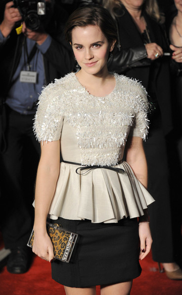 Emma Watson Emma Watson attends the 'My Week With Marilyn' European Premiere at Cineworld Haymarket on November 20, 2011 in London, England.