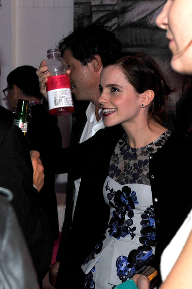 "Emma Watson - vitaminwater Hosts Official Party For The Cast Of ""Perks of Being a Wallflower"" At The 2012 Toronto International Film Festival - 2012 Toronto International Film Festival"