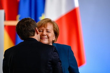 Emmanuel Macron European Best Pictures Of The Day - January 22, 2019