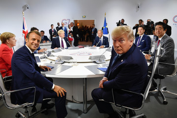 Emmanuel Macron News Pictures Of The Week - August 29