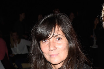 Emmanuelle Alt Front Row at Saint Laurent