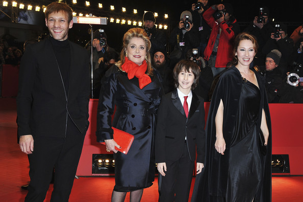 Family photo of the actress, married to Guillaume Schiffman,  famous for Polisse.