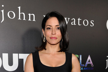 Emmanuelle Vaugier John Varvatos + OUT Support the Gay Men's Chorus of LA