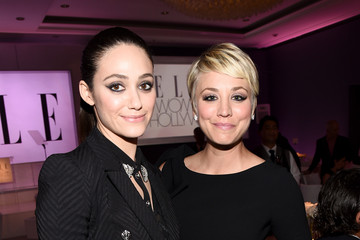 Emmy Rossum Inside ELLE's 21st Annual Women in Hollywood Celebration