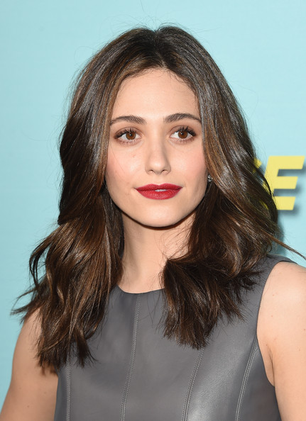 Showtime Celebrates New Seasons of Its Shows — Part 3 [house of lies,shameless,episodes,hair,face,hairstyle,eyebrow,lip,chin,shoulder,brown hair,beauty,long hair,arrivals,emmy rossum,seasons,cecconis restaurant,showtime celebrates all,celebration,seasons]