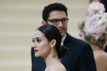 Emmy Rossum 'Rei Kawakubo/Comme des Garcons: Art of the In-Between' Costume Institute Gala - Outside Arrivals