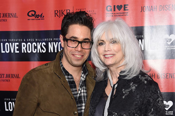 Emmylou Harris The Second Annual LOVE ROCKS NYC! A Benefit Concert for God's Love We Deliver - Red Carpet