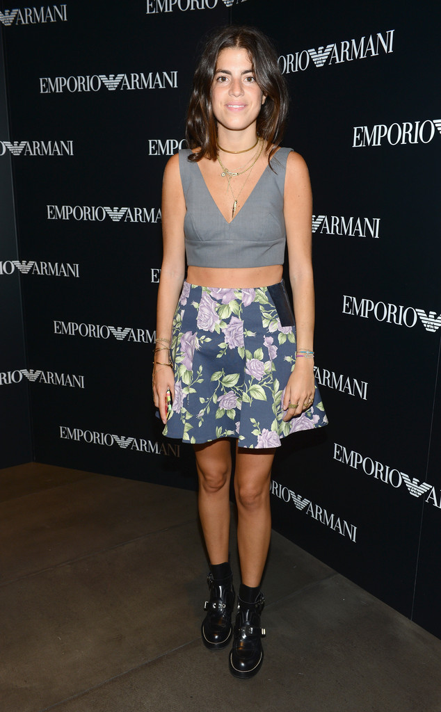 Blogger Leandra Medine attends the Emporio Armani New York Flagship Opening on September 7, 2012 in New York City.