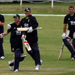 Graham Swann England Players Visit A 'Sport For Life' Project