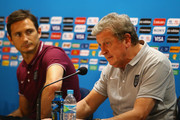 Frank Lampard and Roy Hodgson Photos Photo