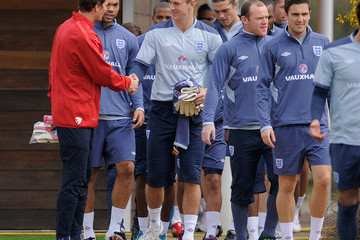 Jens Lehman England Training & Press Conference