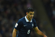 Hatem Ben Arfa of France in action during the International Friendly match between England and France at Wembley Stadium on November 17, 2015 in London, England.