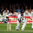 M.S. Dohni England v India: 1st npower Test - Day Two