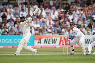 Harbhajan Singh England v India: 2nd npower Test - Day Four