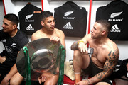 Sonny Bill Williams and Rieko Ioane Photos Photo