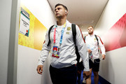 Ben Youngs of England arrives at the stadium prior to the Rugby World Cup 2019 Final between England and South Africa at International Stadium Yokohama on November 02, 2019 in Yokohama, Kanagawa, Japan.