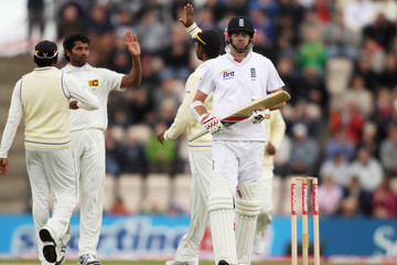 Chanaka Welegedara England v Sri Lanka: 3rd npower Test - Day Four