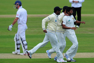 Chanaka Welegedara England v Sri Lanka: 3rd npower Test - Day Three