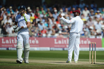 Kevin Pieterson England v West Indies: 2nd Investec Test - Day Three