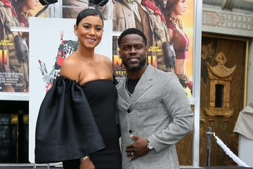 Eniko Parrish Kevin Hart Hand And Footprint Ceremony At the TCL Chinese Theatre IMAX