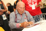 Sir Stirling Moss attends the Chopard brunch during the Ennstal Classic 2015 on July 18, 2015 in Groebming, Austria.
