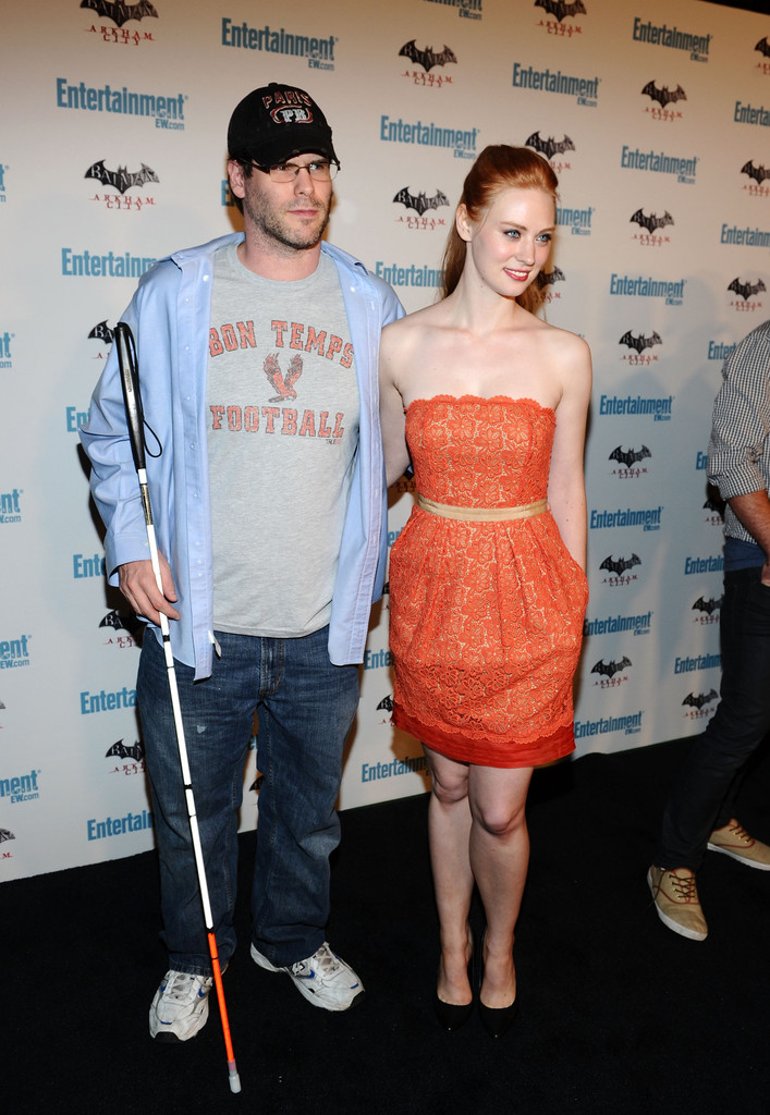Deborah Ann Woll and edward scott