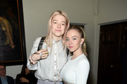 (L-R) Hunter Schafer and Sydney Sweeney are seen as Entertainment Weekly Celebrates Screen Actors Guild Award Nominees at Chateau Marmont on January 18, 2020 in Los Angeles, California.