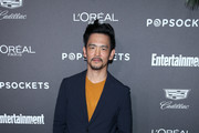 John Cho attends Entertainment Weekly Celebrates Screen Actors Guild Award Nominees sponsored by L'Oreal Paris, Cadillac, And PopSockets at Chateau Marmont on January 26, 2019 in Los Angeles, California.