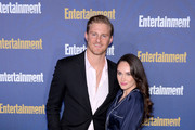 (L-R) Alexander Ludwig and Kristy Dinsmore are seen as Entertainment Weekly Celebrates Screen Actors Guild Award Nominees at Chateau Marmont on January 18, 2020 in Los Angeles, California.