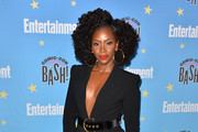 Teyonah Parris attends Entertainment Weekly Comic-Con Celebration at Float at Hard Rock Hotel San Diego on July 20, 2019 in San Diego, California.