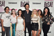 (L-R) Jason Ralph, Brittany Curra, Stella Maeve, Hale Applema, Olivia Dudley, Summer Bishil, and Sera Gamble attend Entertainment Weekly's Comic-Con Bash held at FLOAT, Hard Rock Hotel San Diego on July 21, 2018 in San Diego, California sponsored by HBO