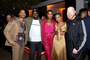 (L-R) Jordan Calloway, Malcolm Barrett, Christine Adams, China Anne McClain and Krondon attend Entertainment Weekly's Comic-Con Bash held at FLOAT, Hard Rock Hotel San Diego on July 20, 2019 in San Diego, California sponsored by HBO.
