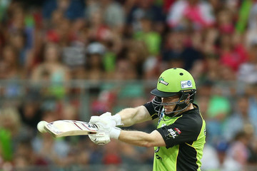 Eoin Morgan Big Bash League - Thunder v Heat