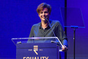 Alexandra Billings speaks onstage during Equality California's Special 20th Anniversary Los Angeles Equality Awards at the JW Marriott Los Angeles at L.A. LIVE on September 28, 2019 in Los Angeles, California.