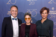 (L-R) Rick Zbur, honoree Jill Soloway and Alexandra Billings attend Equality California's Special 20th Anniversary Los Angeles Equality Awards at the JW Marriott Los Angeles at L.A. LIVE on September 28, 2019 in Los Angeles, California.