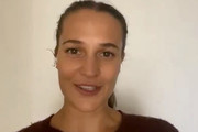 Alicia Vikander speaks during Equality Now's Virtual Make Equality Reality Gala on December 03, 2020 in UNSPECIFIED, United States.