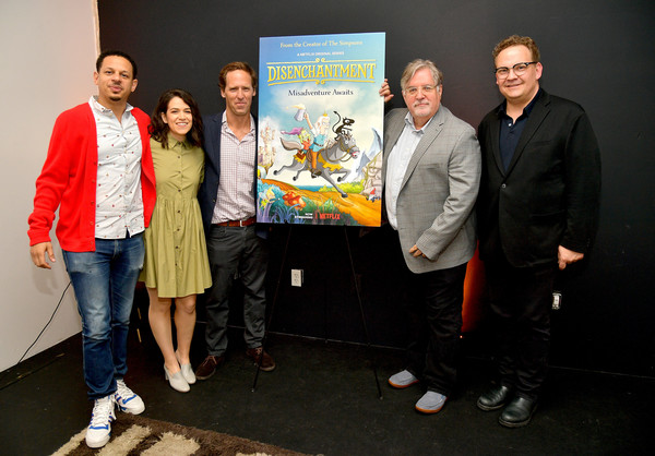 Adult Animation Q&A And Reception [community,event,design,team,visual arts,art,tourism,eric andre,abbi jacobson,matt groening,andy richter,nat faxon,adult animation q a,q a,california,hollywood,reception]