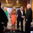 Eric Bolling Hannah Davis Visits 'FOX and Friends'