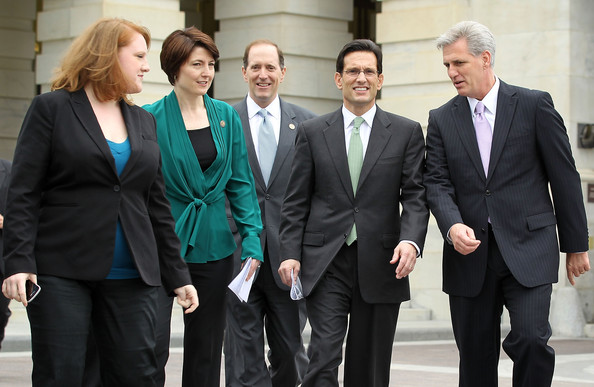 Cantor, House Republicans Introduce Small Business Tax Cut Act Of 2012 [suit,white-collar worker,event,formal wear,businessperson,management,business,tuxedo,job,gesture,r,cantor,dave camp,cathy mcmorris rodgers,kevin mccarthy,republicans introduce small business tax cut act,u.s.,house,va,news conference]
