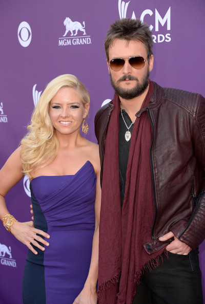Eric Church with beautiful, sexy, cute, Wife Katherine Blasingame