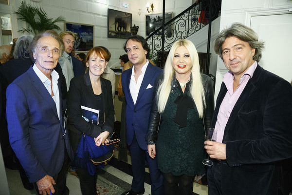 Monika Bacardi and David Swaelens-Kane Celebrate the New Photo Department at the Auction House Cornette De Saint Cyr