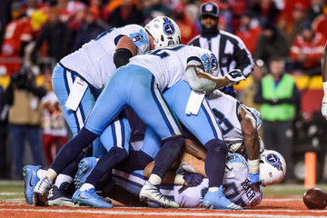 Eric Decker Wild Card Round - Tennessee Titans v Kansas City Chiefs