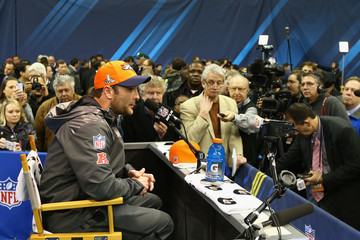 Eric Decker Super Bowl XLVIII Media Day